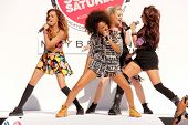 LOS ANGELES - AUG 9:  Jade Thirwall, Leigh-Anne Pinnock, Perrie Edwards, Jesy Nelson at the Teen Vogue's Back-To-School Saturday Kick-Off Event at the The Grove on August 9, 2013 in Los Angeles, CA