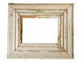 Weathered Wooden Frame poster