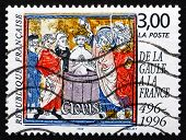 Postage Stamp France 1996 Baptism Of Clovis, 1500Th Anniversary