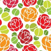Floral seamless ornament, nice for wallpaper, wrapper paper or fabric swatch