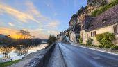 Road Through Beynac France