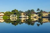 Luxury Houses At The Canal On  Pinetree Drive In Miami