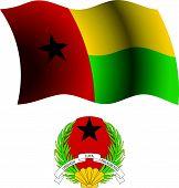 Guinea Bissau Wavy Flag And Coat