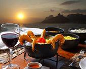 pic of brazilian food  - Dinner Rio de Janeiro - JPG
