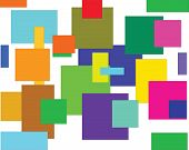 composition, squares,