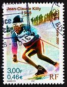 Postage Stamp France 2000 Jean-claude Killy, Skier