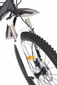 Suspension Fork Of Mountain Bike