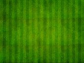 Green grass background from a sports arena top view