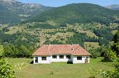 country house along Tara Valley in Montenegro