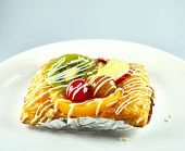 Sweet Fruit Danish