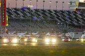 Daytona Beach, FL - Jan 25, 2014:  The Tudor United SportsCar Championship teams take to the track f