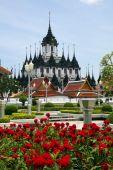The Loha Prasat or Metal Palace, Bangkok, Thailand