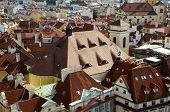 roofs Prague