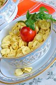 Bowl Of Dried Tortellini