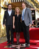 LOS ANGELES - JAN 29:  Jeremy Sisto, Cheryl Hines, Kevin Nealon at the Hollywood Walk of Fame Star C