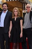 LOS ANGELES - JAN 29: Jeremy Sisto, Cheryl Hines, Larry David, at the Hollywood WOFCeremony for Cher