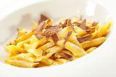 Pasta with Truffle Slice