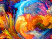 picture of hallucinations  - Colors In Bloom series - JPG