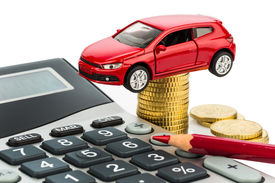 picture of tariff  - car and calculator - JPG