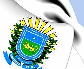 Mato Grosso Do Sul Coat Of Arms, Brazil.