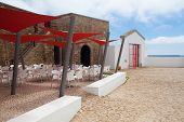 Modern Restaurant In Lighthouse Of Cabo De Sao Vicente, Sagres (buil