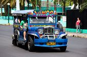 Jeepneys In Philippines.
