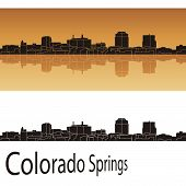 Colorado Springs Skyline