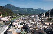 Cityscape Of Salzburgh, Austria
