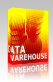 Data Warehouse Illustration Box Package