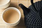 Tetsubin And Tea Cups