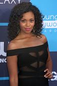 LOS ANGELES - JUL 27:  Mishael Morgan at the 2014 Young Hollywood Awards  at the Wiltern Theater on