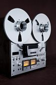 Analog Stereo Open Reel Tape Deck Recorder Vintage Device