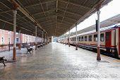 Train On Sirkeci Railway Station
