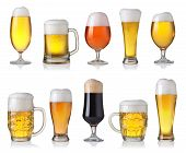 Set Of Different Beer