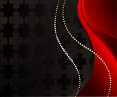Black Jewelry Background