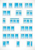 Plastic-windows-vector