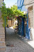 In Rhodes town