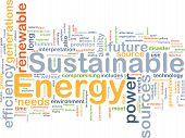 nachhaltige Energie Hintergrund Konzept