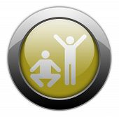 Icon, Button, Pictogram Exercise, Fitness