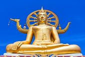 Wat Phra Yai, The Big Buddha Temple At Koh Samui, Thailand