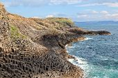 picture of bute  - Staffa is an uninhabited island of the Inner Hebrides Scotland - JPG