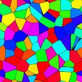 Rainbow Mosaic Seamless Texture