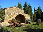 Masía típica Toscana en Chianti