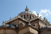 PARMA, ITALY - MAY 01, 2014: Basilica Santa Maria della Steccata. Basilica is a Marian shrine made in Parma between 1521 and 1539 and in 2008 elevated to the rank of minor basilica