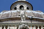 PARMA, ITALY - MAY 01, 2014: Statue of Angel. Basilica Santa Maria della Steccata. Basilica is a Marian shrine made in Parma between 1521 and 1539 and in 2008 elevated to the rank of minor basilica
