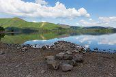 Derwent Lake District National Park Cumbria England uk near Keswick
