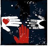 ethnische Hände