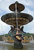 Paris - Fountaine Des Mers