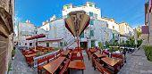 Town Of Trogir Square Panorama