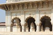 Agra Fort doorway detail
